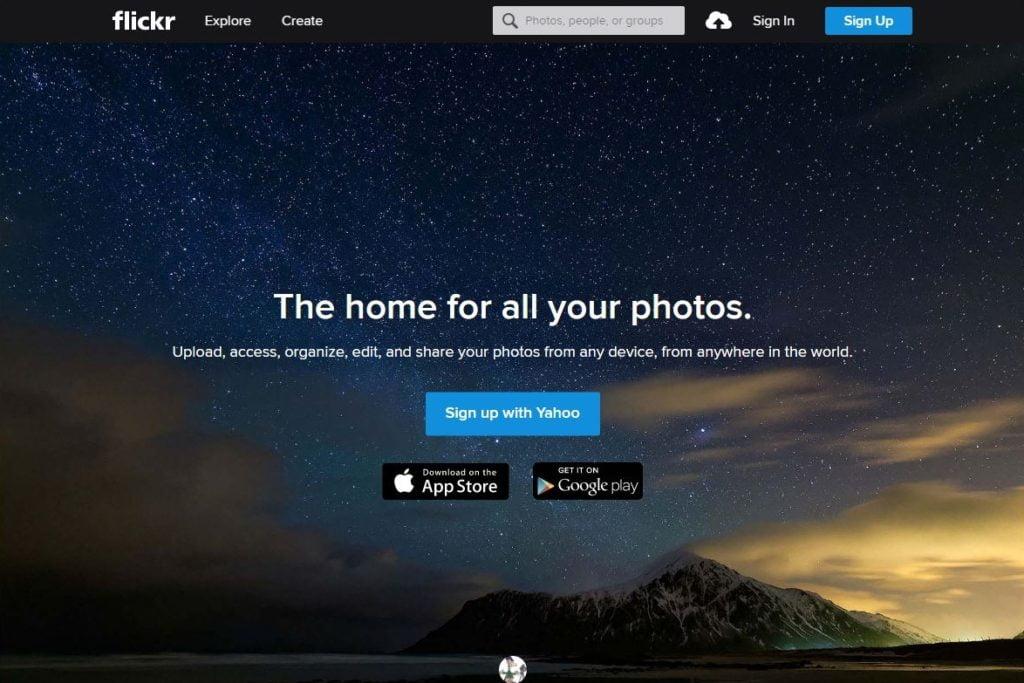 flickr-forside