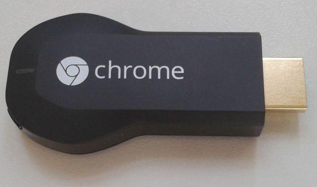 Chromecast er ikke meget større end en USB-nøgle.