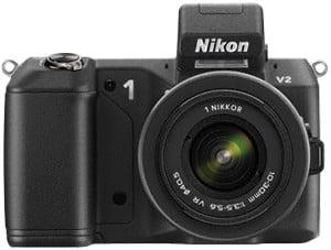 Nikon 1 v2 front