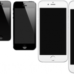 De forskellige iPhone-modeller