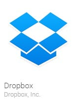 Dropbox finds til både iOS og Android.