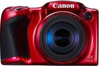 Et  Canon-kamera med 20 megapixel og hele 40 gange optisk zoom.