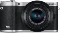 Et spejlfrit Samsung systemkamera. Set til ca. kr.  2.800.