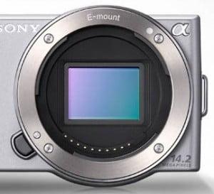 Sensoren i et Sony NEX-3