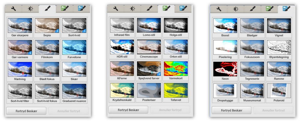 Picasa-billedredigering-flere