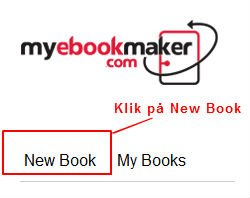 myebookmaker - new book