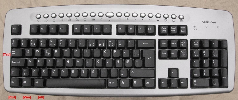 tastatur-dansk