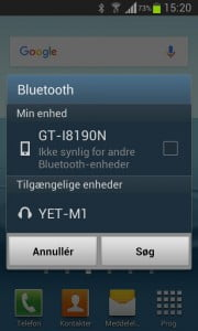 bluetooth-parring